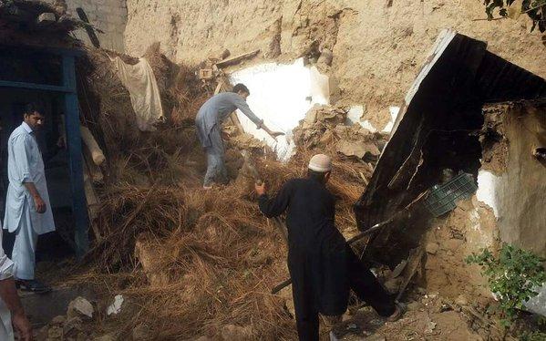 earthquake rocks Pakistan and Afghanistan