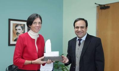 Director DFID Joanna Reid visited Chairman PITB-2