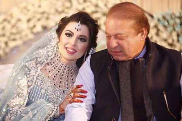Nawaz Sharif's granddaughter Mehr-un-Nisa Wedding pictures