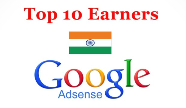 Top 10 Google Adsense Earners in India