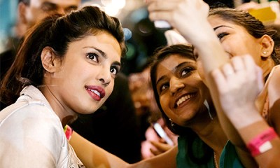 selfies of Priyanka Chopra