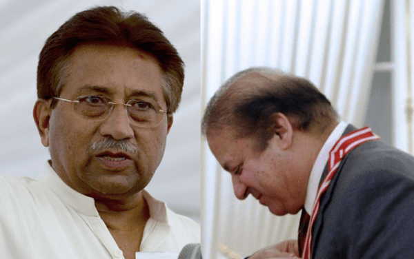 Nawaz surrenders to Gen Musharraf