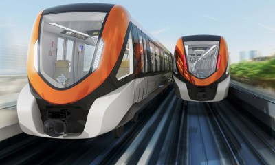 Orange Line Metro Train Project