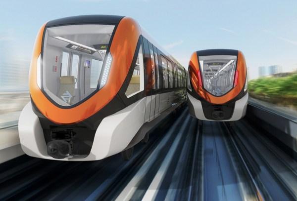 Orange Line Metro Train Project
