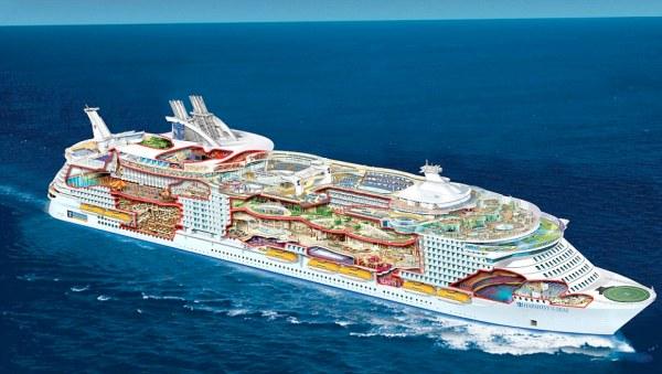 World's largest cruise ship