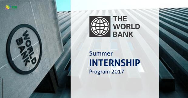 World Bank Group Summer Internship Program