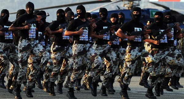 Saudi Special Forces contingents