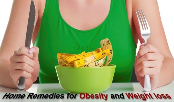 home remedies to treat obesity