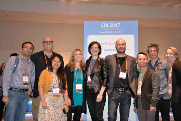 ACM Conference on Human Factors in Computing Systems (CHI)