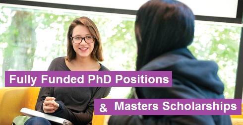 International Scholarships for PhD