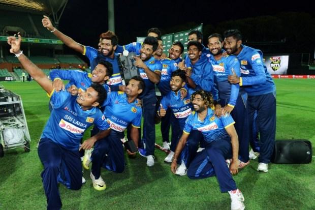 Sri Lankan team