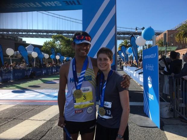 Student from Stanford University wins San Francisco Marathon