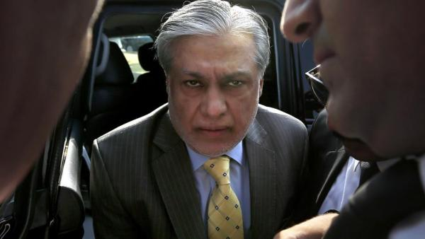 Ishaq Dar admitted to the hospital