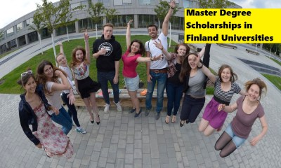 Master Degree Scholarships in Finland Universities