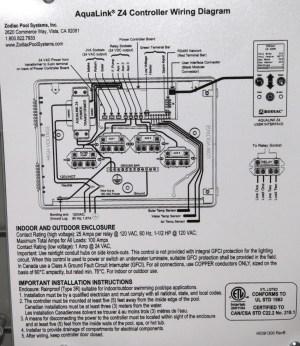 Jandy Aqualink Wiring Diagram | WIRING DIAGRAM