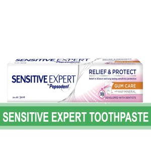 sensitive expert toothpaste