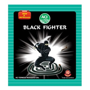 aci black fighter mosquito coil