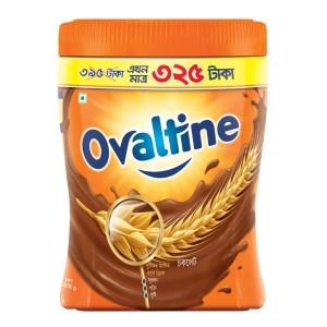 ovaltine malted chocolate drink jar