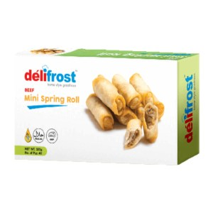 delifrost beef mini spring roll 40 pcs