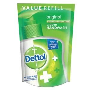 dettol original liquid hand wash refill pack
