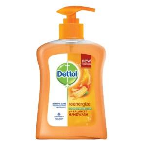 dettol re-energise ph-balanced hand wash