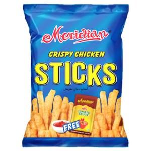 meridian crispy chicken sticks chips