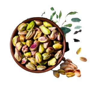 pesta badam (pistachio nut)