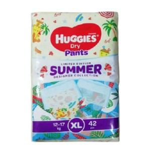 huggies dry pants baby diaper pant xl (12-17kg)