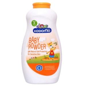 kodomo baby powder (3+) natural soft protection 400gm