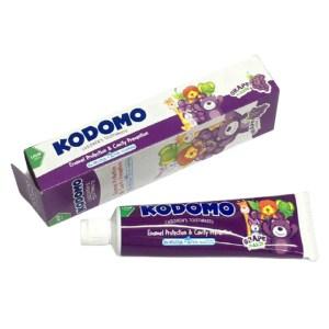 kodomo baby toothpaste grape
