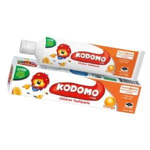 kodomo baby toothpaste orange