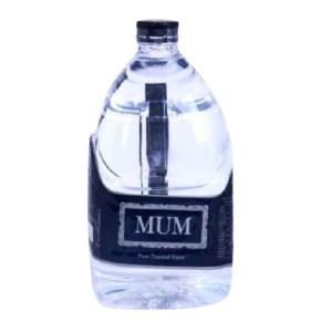 mum drinking water 5 liter