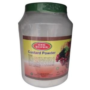 one super custard powder