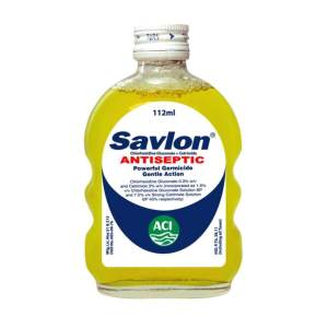 aci savlon antiseptic liquid 112ml