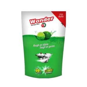 aci wonder anti bacterial dish washing refill 250ml