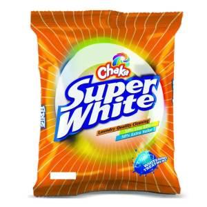 chaka super white washing powder