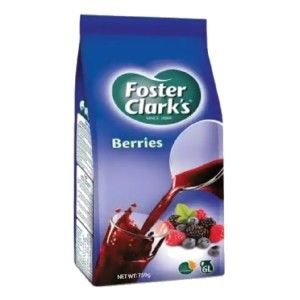 foster clarks berries drink 750gm pack