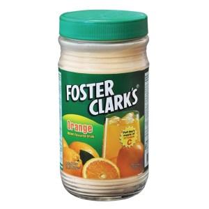 foster clarks drink orange 750gm