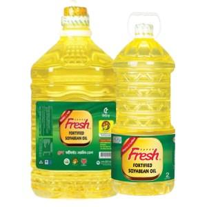 fresh soyabean oil