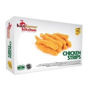 kazi farms kitchen chicken strips 250gm