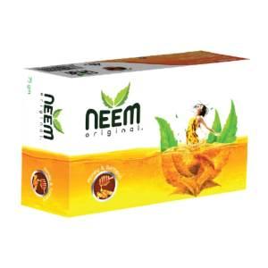 aci neem original honey & turmeric soap 100gm