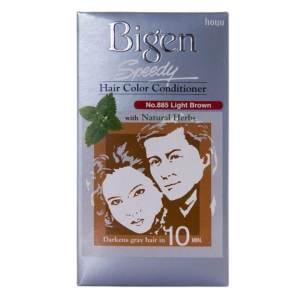 bigen hair color & conditioner (light brown) 80gm