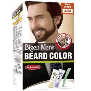 bigen men's beard color (dark brown) 20gm