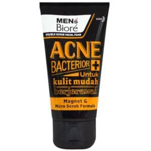 biore mens acne bacterior face wash 100gm