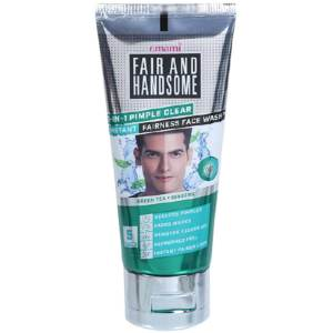 emami fair and handsome pimple clear face wash 50gm