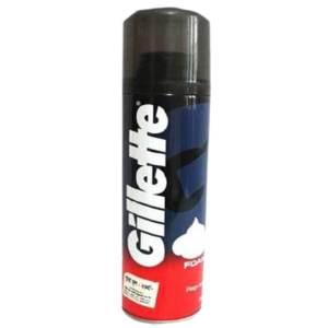 gillette shaving foam regular 196gm
