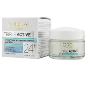 loreal paris triple active (normal skin) day cream