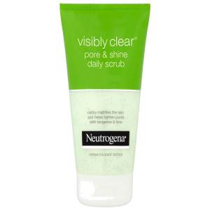 neutrogena pore & shine daily scrub 150ml