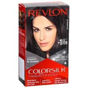 revlon hair color brown black (2n)