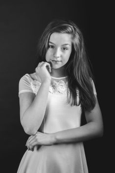 White teenager black — 10